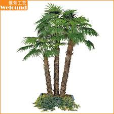 pt1506 small artificial palm tree for shopping mall
