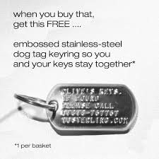 baby dog tags baby boy s silver dog tag disc christening gift set cgbs ss