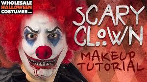 scary clown makeup tutorial wholesale halloween costumes blog