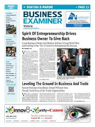 josh lexus of kelowna business examiner victoria march 2017 by business examiner media
