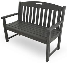 black and wood bench bench yacht club black porch metal benches wooden wood