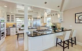 Kitchen With Black Cabinets Black Granite Countertops Colors U0026 Styles Designing Idea