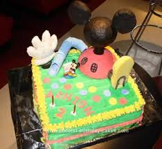 coolest mickey mouse clubhouse cake idea mickey mouse clubhouse