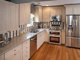 stainless kitchen cabinets formica countertops hgtv