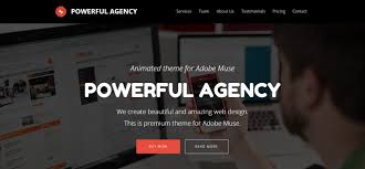 adobe muse mobile templates 57 best responsive adobe muse templates wisset