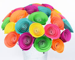 Neon Themed Decorations 80s Party Decor 28 Neon Paper Flowers Neon Birthday Party