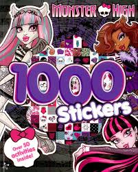 monster activity book 1000 stickers amazon uk toys