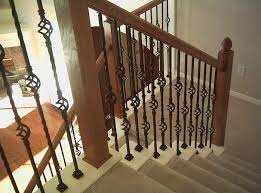 Iron Stair Banister Interior Iron Stair Railings Interesting Ideas For Home