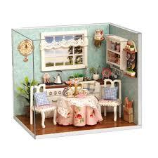 dolls house kitchen furniture aliexpress buy birthday gift diy mini dollhouse