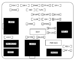 02 cadillac escalade cadillac escalade mk2 second generation 2002 fuse box diagram