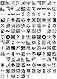 breaker deco element fonts glyphs and