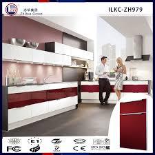 Gloss Red Kitchen Doors - kitchen cabinets china kitchen cabinets china suppliers and