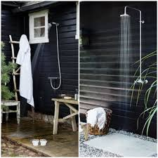 Outdoor Shower Ideas Diy Outdoor Shower Plumbing Cute Wall Ideas Plans Free In Diy