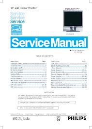 dell e193fp service manual download schematics eeprom repair