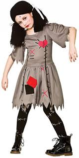 witch doctor and voodoo doll costume freaky voodoo doll girls costume all halloween mega fancy dress