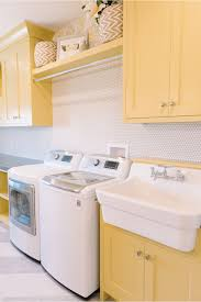 Laundry Room Cabinets by 19 Fabulous Ideas How To Add Color To Your Laundry Room Homelovr