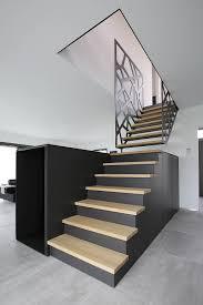 rambarde escalier design yves deneyer menuiserie métallique ferronnerie