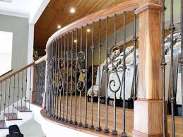 interior wrought iron railings indoor stairs interior metal