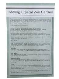 amazon com healing crystal zen garden home u0026 kitchen