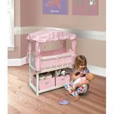 badger basket doll crib with cabinet badger basket canopy doll crib with baskets bedding and mobile