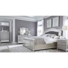 silver bedroom set