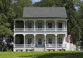 plantation style house plantation style house stock image image of home 2428951