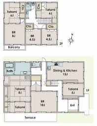 floor plan of a house 21 best traditional japanese house floor plans images on