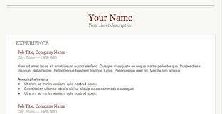 Sample Of Best Resume by Download Great Resume Haadyaooverbayresort Com