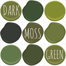 color on trend deep mossy olive green u2013
