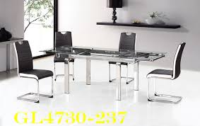 Montreal Furniture Glass Top Dining Tables Sets Meuble Valeur - Glass top dining table montreal