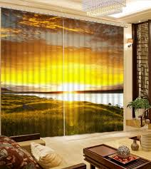 Yellow Curtains For Living Room Online Get Cheap Fabric Kitchen Curtains Aliexpress Com Alibaba