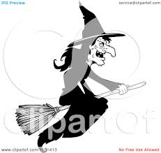 witch clipart black and white clipart panda free clipart images