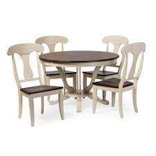 cottage dining room sets baxton studio napoleon chic country cottage antique oak wood and