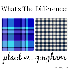 tartan vs plaid the trendy what u0027s the difference plaid vs gingham
