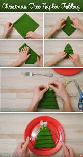 best 25 diy christmas napkins ideas on pinterest christmas tree
