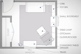 Floor Plan Layout by 10 Must Know Design Tips For Your New Nursery Brit Co