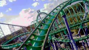 Six Flags America Map by Joker U0027s Jinx Front Seat On Ride Hd Pov Six Flags America Youtube