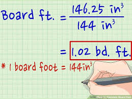 total square footage calculator how to calculate board feet 13 steps with pictures wikihow