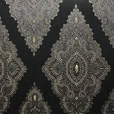 wallpaper glitter pattern jewel black gold glitter wallpaper graham brown