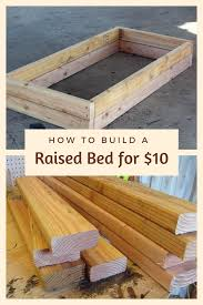 build a raised bed for 10 diy backyard ideas backyard and gardens