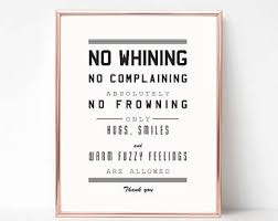 no whining etsy