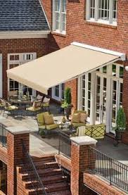 Costco Sunsetter Awning Sunsetter Motorized Retractable Awnings Backyard Pinterest