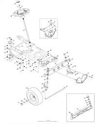 troy bilt 13an77kg011 pony 2008 parts diagrams