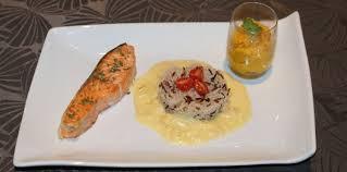cuisiner des navets blancs côtelettes de saumon au beurre blanc avec une purée de potimarron