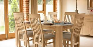 Dining Chair And Table Tuscany Oak Furniture The Range Dining Chairs Oak Furniture Land