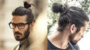 man bun top knot haircuts for men top 10 best man bun