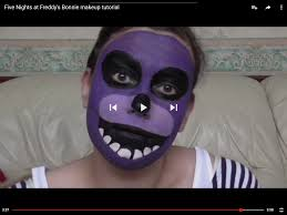 five nights at freddy s halloween update five nights at freddy u0027s bonnie makeup tutorial youtube https