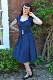 little miss doo wop pin up rockabilly and vintage fashion and