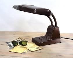 Lighted Drafting Table Industrial Desk Lamp Etsy