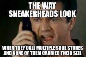 Sneaker Head Memes - big feet need love too sbd